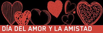 14 de febrero Dia del amor y la amistad 2017