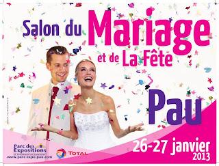 Salon du Mariage et de la Fête 2013 foire expo de pau