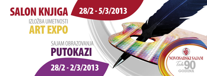 PUTOKAZI, SALON KNJIGA I ART EXPO