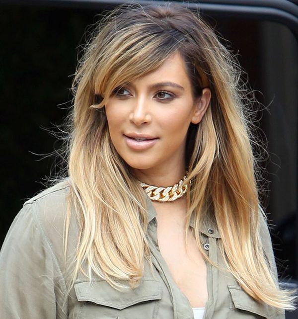 celebstop kim kardashian now blonde and hot body sep 2013. Black Bedroom Furniture Sets. Home Design Ideas