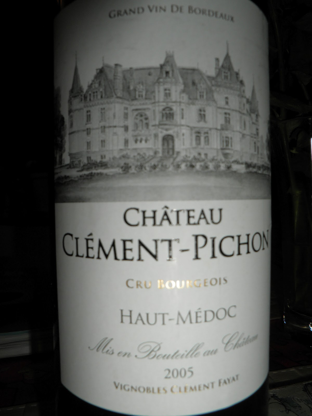 Wine in sweden tn chateau clement pichon 2005 cru for T1 bordeaux location