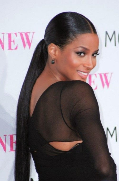 Latest Black Hairstyles Ponytail 2015 Trends