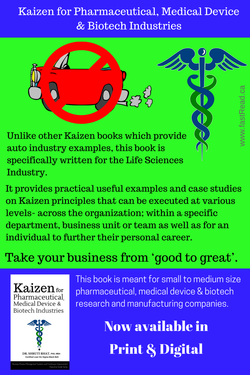Kaizen for Life Sciences