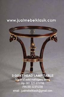 supplier klasik furniture mebel klasik ukir supplier lamp table supplier side table