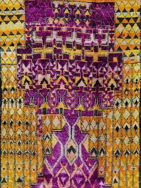 Ręcznie tkane dywany marokańskie na blogu o wnętrzach
