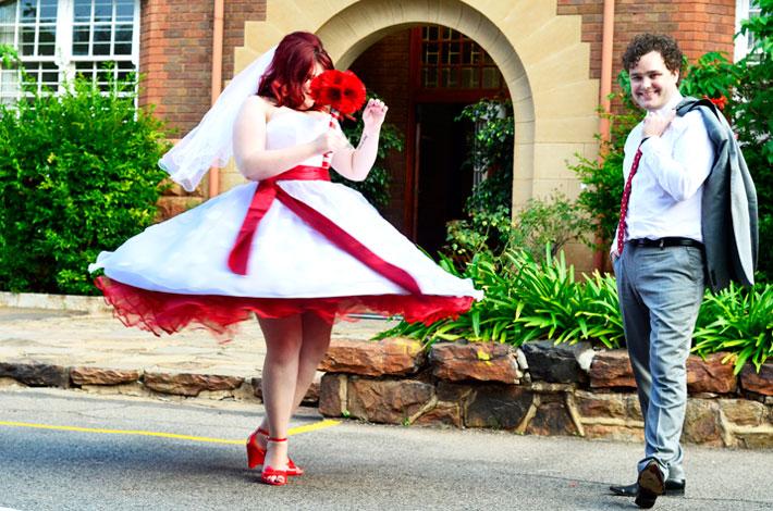 Writers Blog 50s Themed Wedding