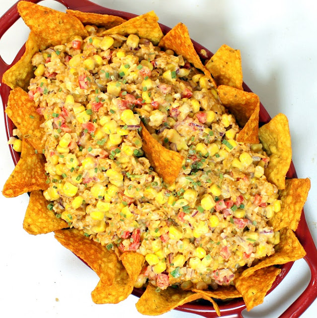 Erecipecards doritos taco corn salsa salad church potluck side dish