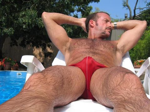 Hairy massage gay