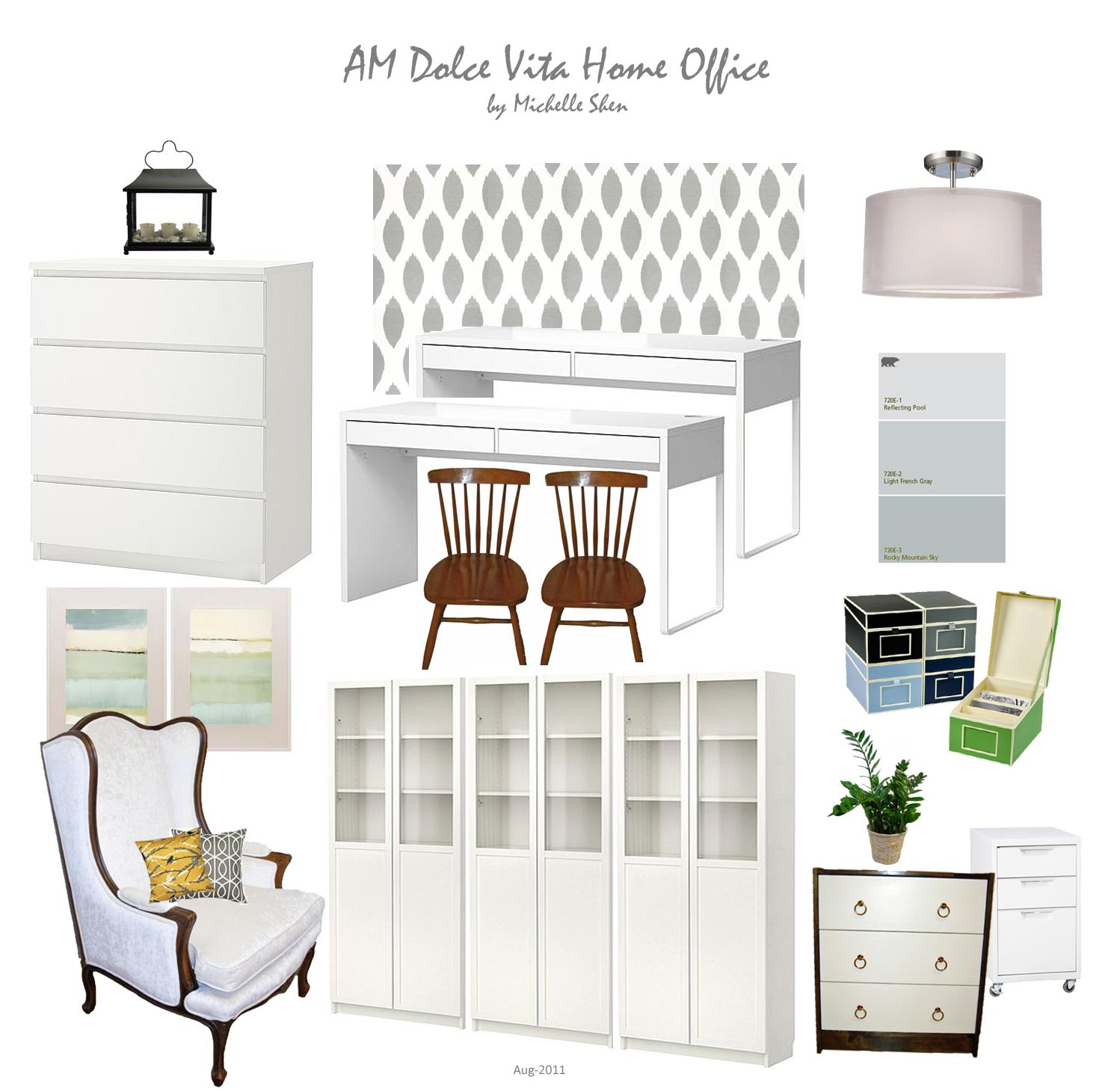 AM Dolce Vita: Design Boards