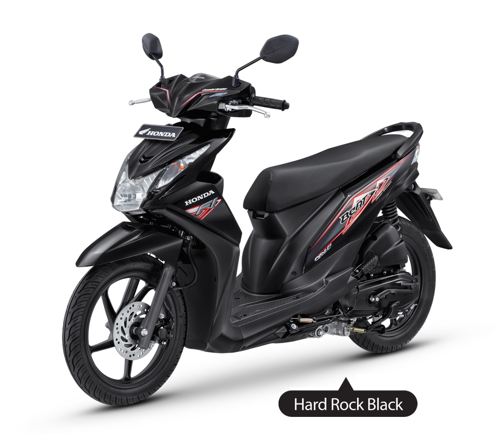 New Honda Beat Injeksi Hard Rock Black