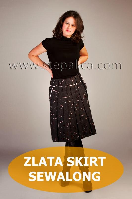 Stepalica Patterns: Zlata skirt sewalong