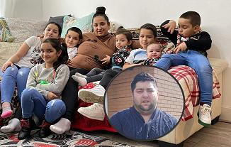 Astăzi a plecat în veşnicie Sergiu Constantin Nerghis, lăsând în urmă 7 copilaşi îndureraţi...