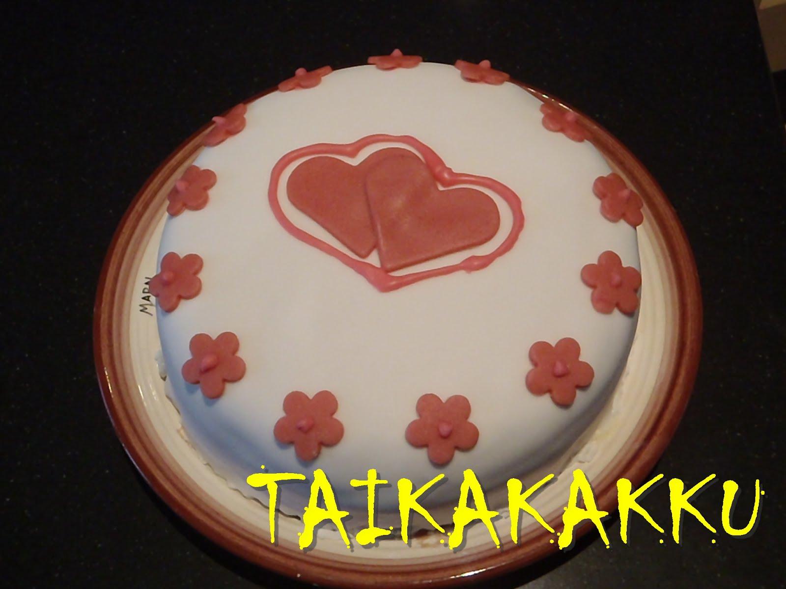 Ystävänpäivän kakku