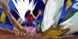 14 Pertarungan Paling hebat di anime One Piece no 4 paling dahsyat