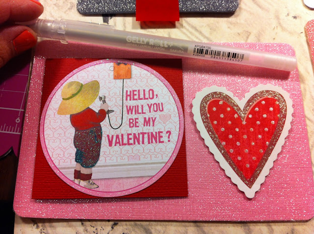 Card-Making-Ribbon-Shimmer-Be-My-Valentine