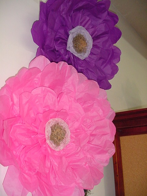 Designs By Laura Vintage Finds Diy Large Tissue Paper Flower