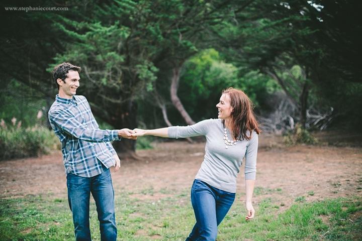 engagement session at John McLaren Park in San Francisco