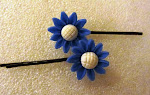 Sunflower hairpins
