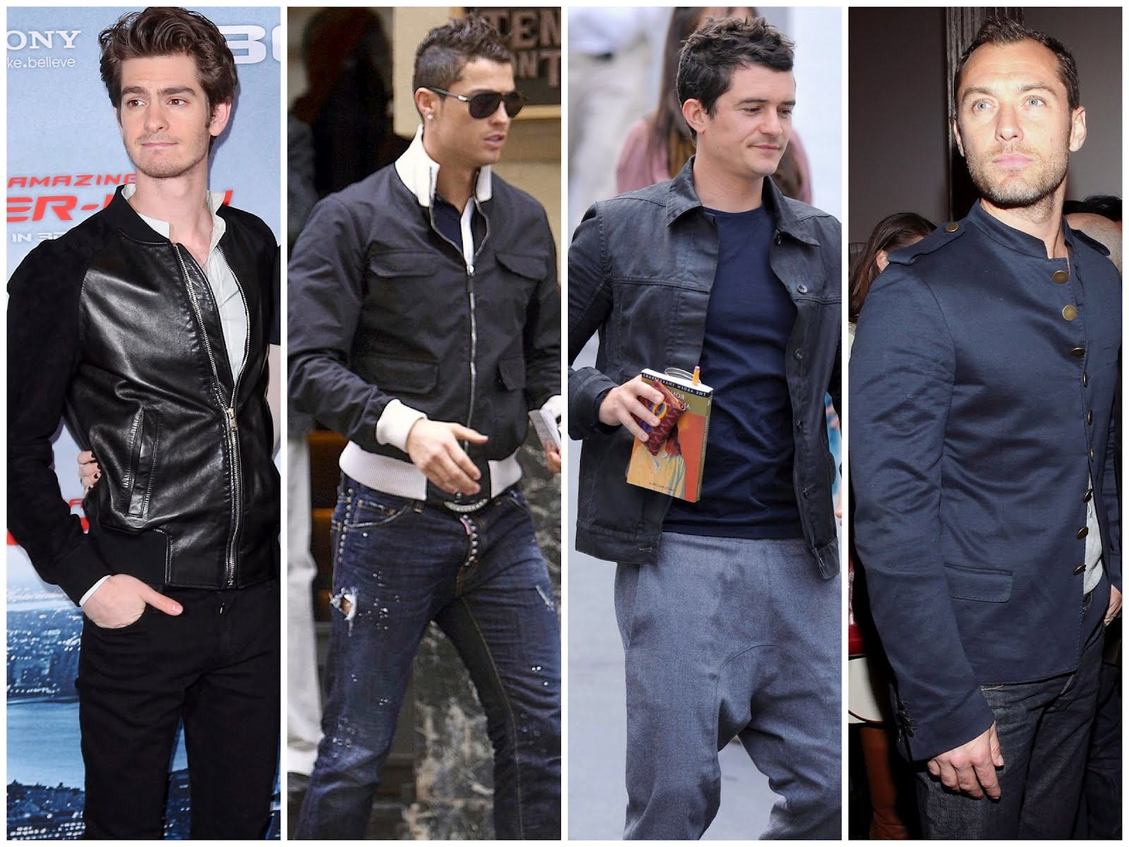 00o00 menswear london blog mr porter international sales alexander mcqueen gucci drkshdw rick owens lanvin andrew garfield, cristiano ronaldo orlando bloom jude law celebrity wear