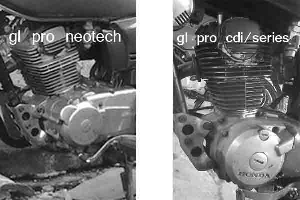 beda gl pro neotech dengan series
