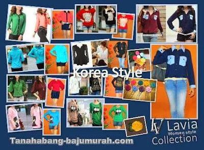 Grosir baju  korea murah