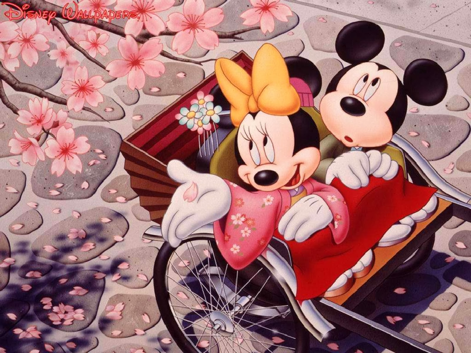disney hd wallpapers: minni and mickey mouse hd wallpapers