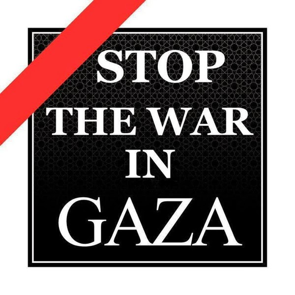 STOP THE WAR IN GAZA
