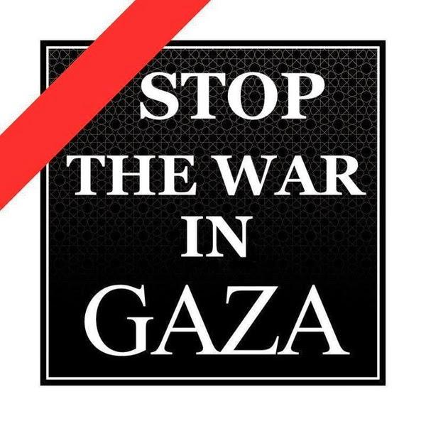 STOP THE WAR IN GAZA