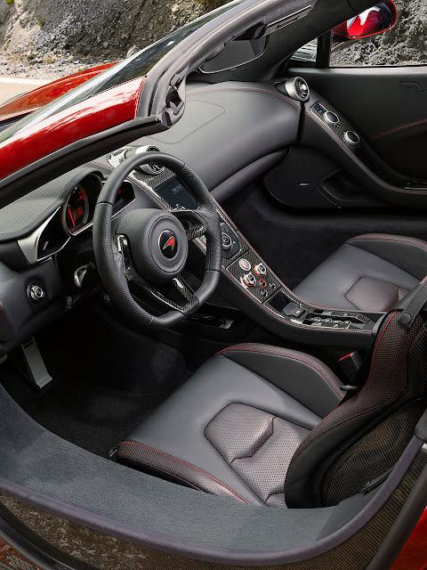 McLaren 12c Spider  interior