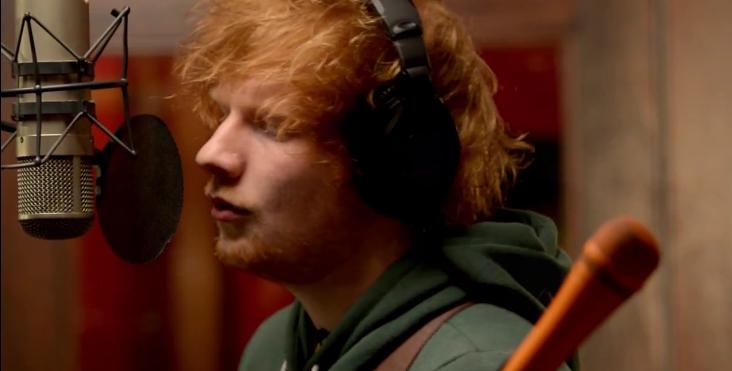 Video ed sheeran live the live room on the warner - Ed sheeran give me love live room ...