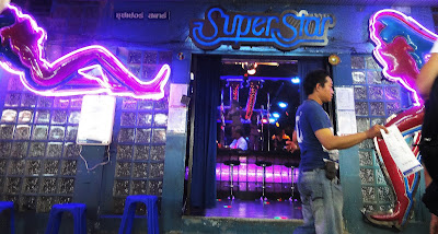 Patpong in Bangkok is another hot nightspot in the city center