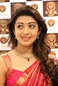 Pranitha glamorous photos at VRK Silks-thumbnail-16