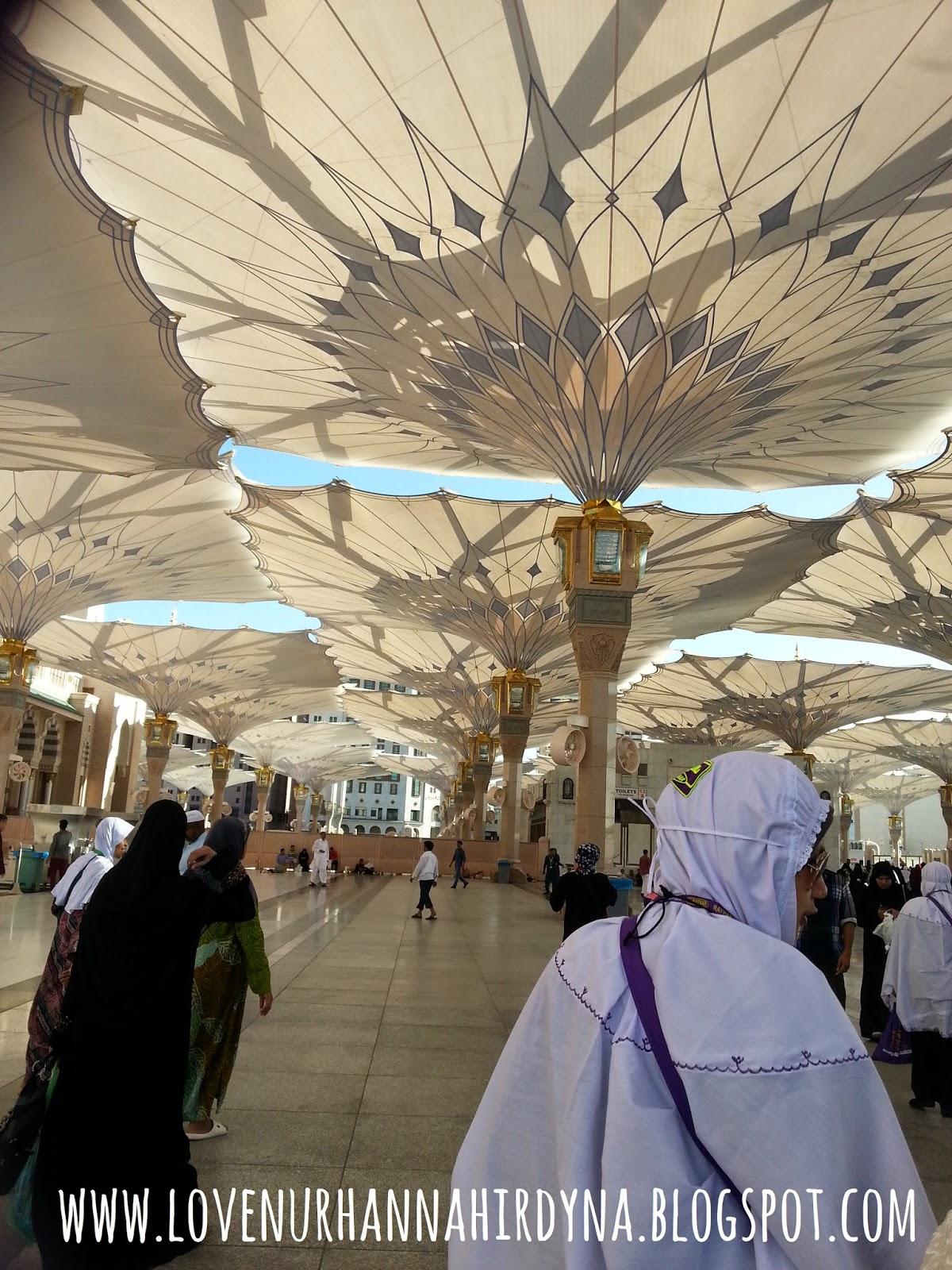 perkarangan masjid nabawi
