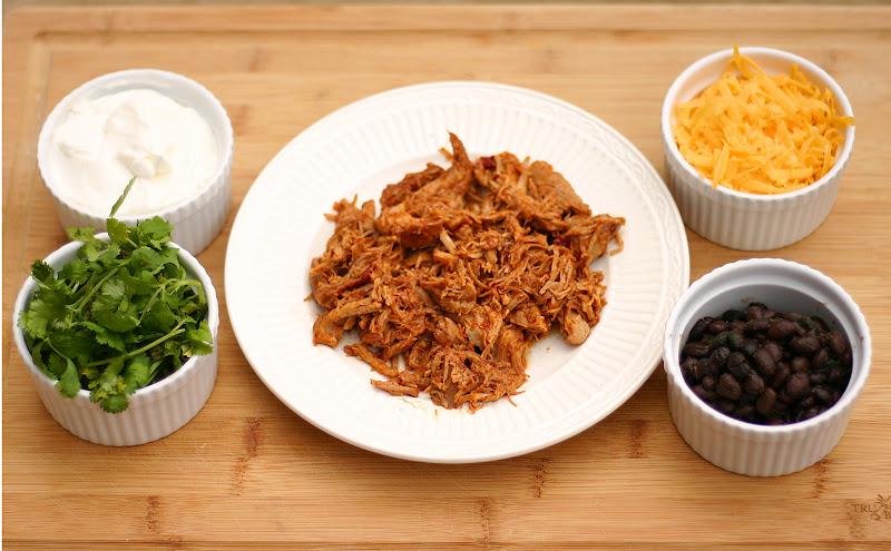 spicy shredded slow cooker pork click for printable 1 pork roast or ...