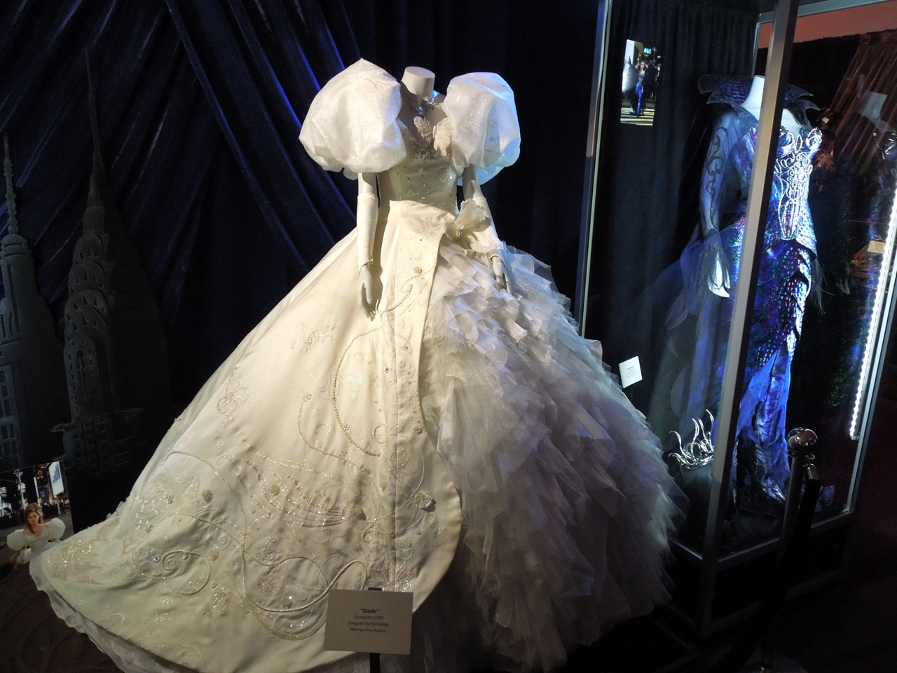 Giselle fairytale gown worn by Amy Adams in Enchanted on