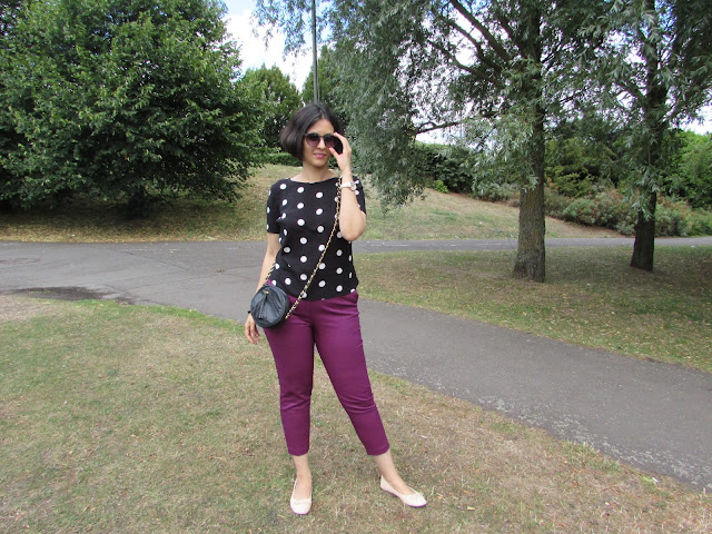 coloured trousers