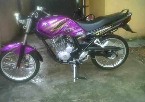 foto mudik gambar modifikasi motor yamaha scorpio low rider ceper full ...