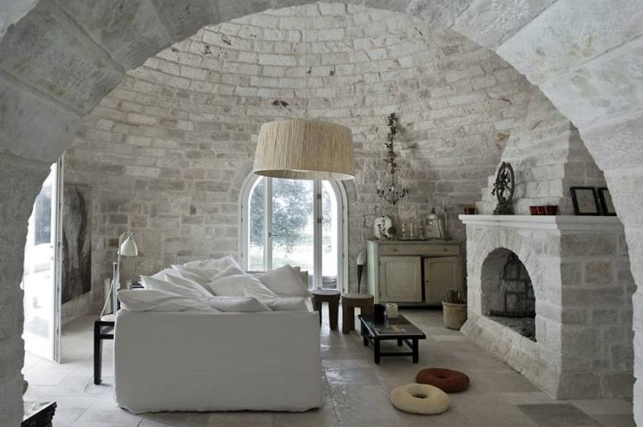 Castle in Italy as a Stylish Summer Home Interiors and Design