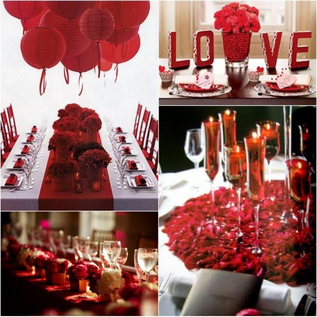 Dia dos namorados especial de decora o falando em for Valentine day dinner party ideas