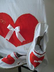 Conjunto Corazón Rojo Pasión