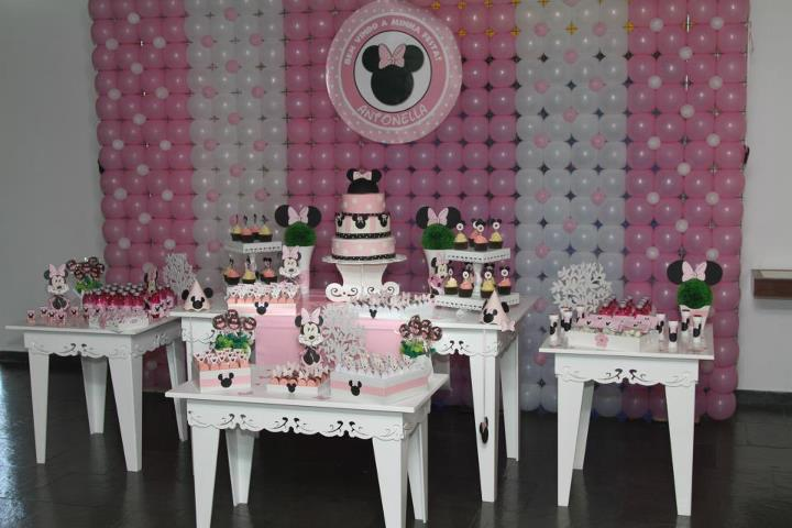 Decoracion Minnie Rosada ~ Ideas para decoraci?n de cumplea?os Minnie Rosa