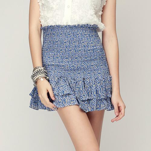 Paisley Smocked 2 Way Top & Skirt