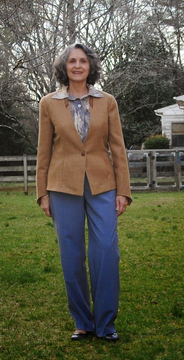 SewTawdry: Butterscotch Jacket