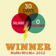 NaNo 2012 WINNER
