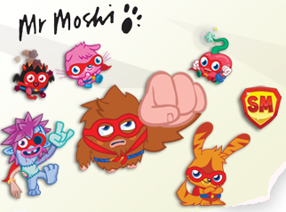 Mr. Moshi Sent a Letter to YOU, Monstro City!