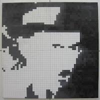 Fernando Pessoa: Pintura Quadrículas 8