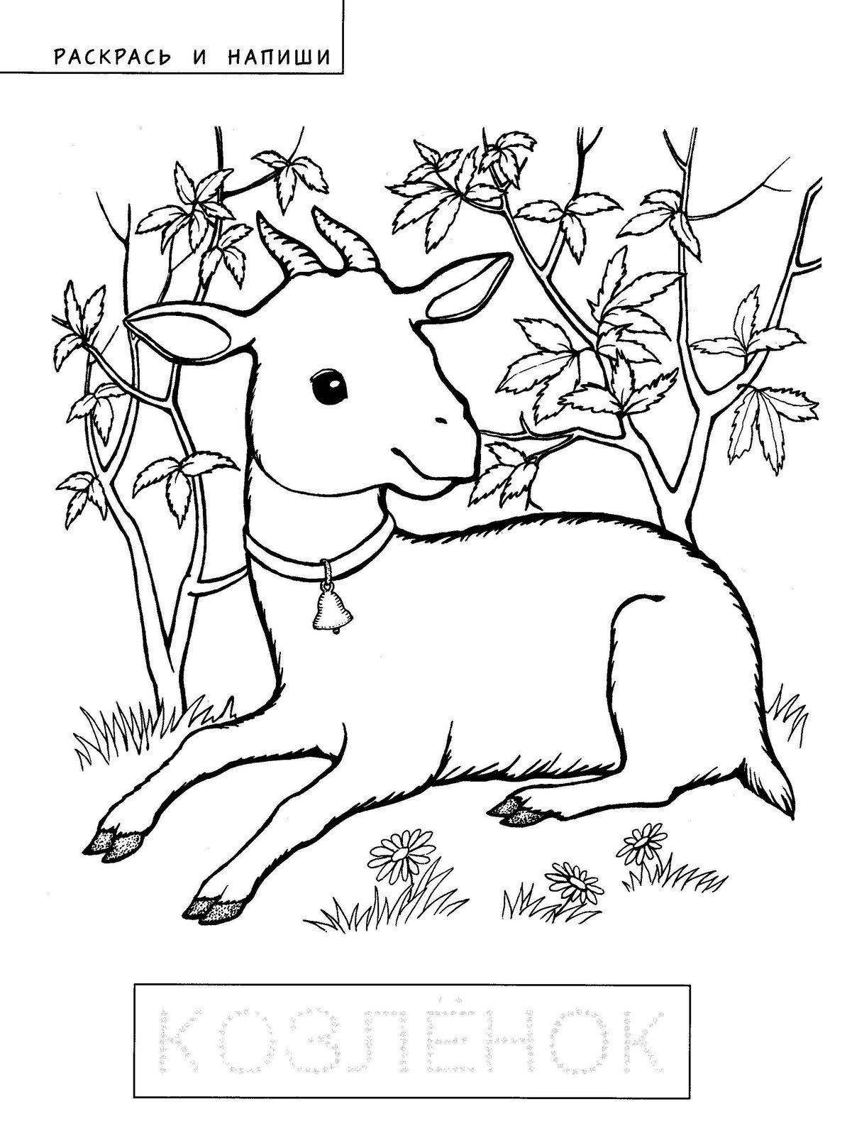 И козлята сказка волк и семеро козлят