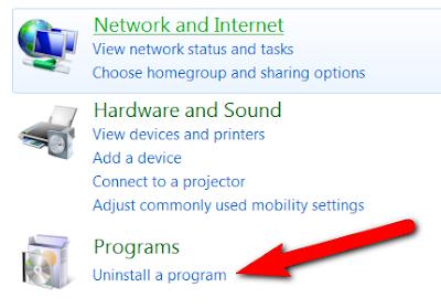 menghapus instalan dapodik di laptop