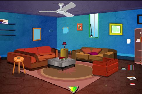 Play EscapeGamesToday Desirable Blue House Escape