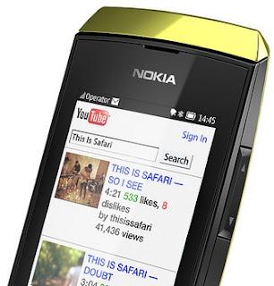 Nokia Asha 306 Full Touch WiFi Harga Rp 700 Ribu